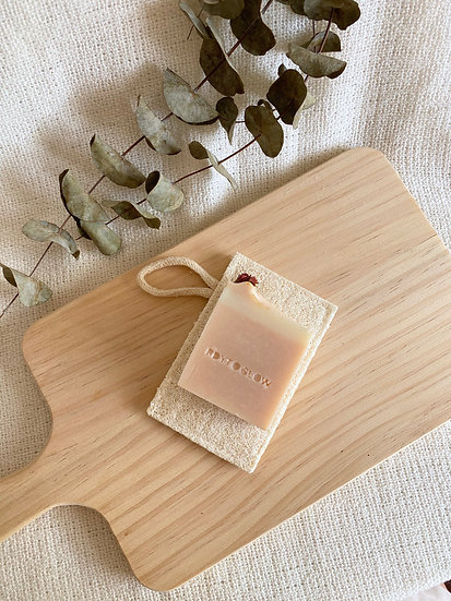 Natural Loofah Soap Dish