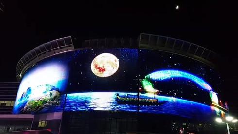 삼성 코엑스 삼대형G-Glass영상 <통영의자연>
