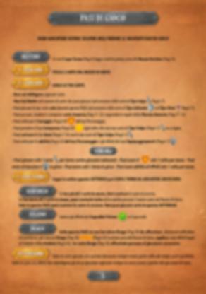 Throne | Gioco da Tavolo | I Guardiani di Kalesh - Regolamento - Fasi di Gioco