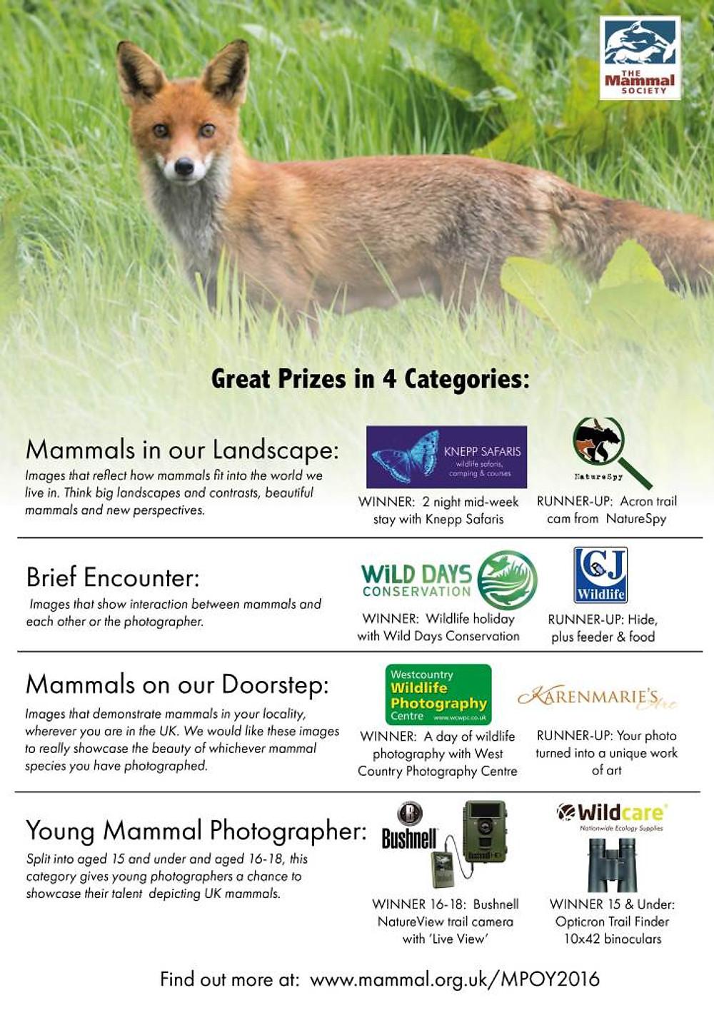 Mammal Society Comp2