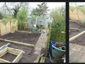A busy weekend of garden developments