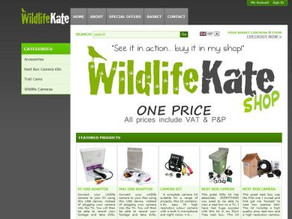 Sneak Preview of the WildlifeKate Shop!