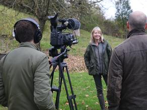 Badger Sett Cover-up & Filming