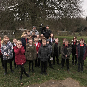BBC Midlands Today film for Big School Birdwatch!