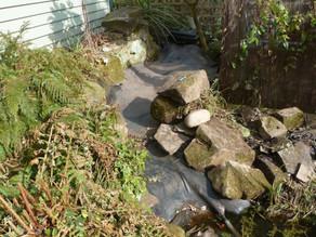 A garden pond & stream upgrade
