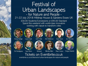 A wonderful weekend: A Festival of Urban Landscapes