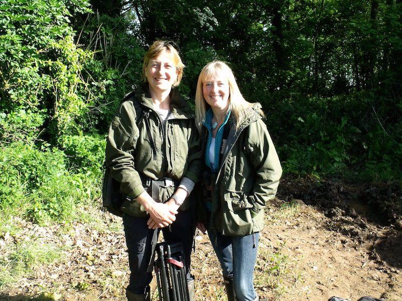Justine Evans and me DSCF7437 copy