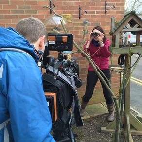 Big School Birdwatch with BBC Midlands Today!