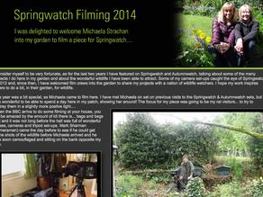 Springwatch Begins… What happens when the team film in your garden?