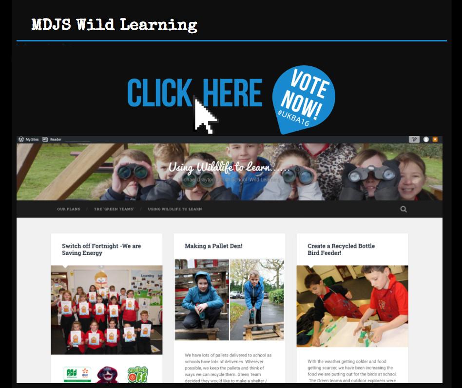 WildLearning blog vote