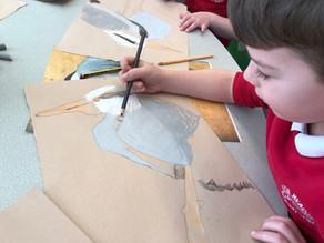 Wonderful 'Lost Words' inspired artwork at High Meadow Infant School….