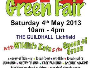 Big Green Fair in Lichfield
