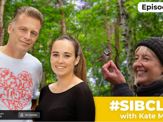 Chatting with Chris Packham and Megan McCubbin .....