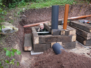 Building the Yew View Artificial Badger Sett