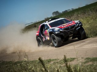 Peugeot sur CHINA GRAND RALLY