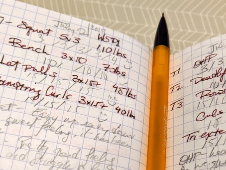 Analog and the Gym: In Praise of Using a Pen and Paper for Workouts