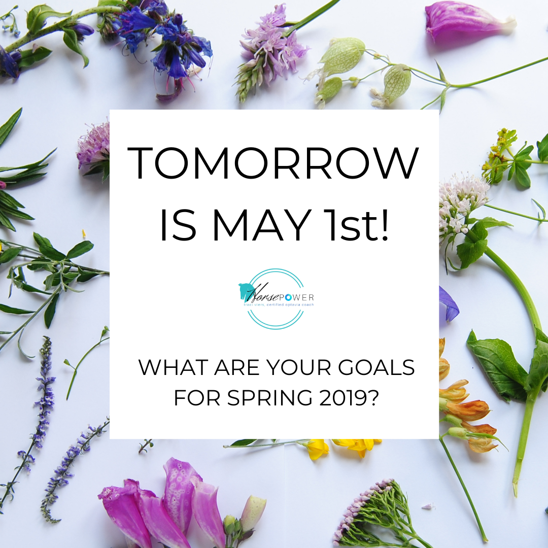 TOMORROW IS MAY 1st!