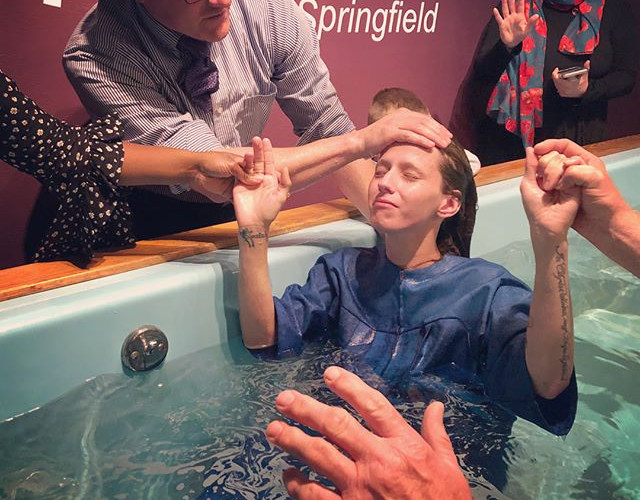 Two more baptized in Springfield today!_