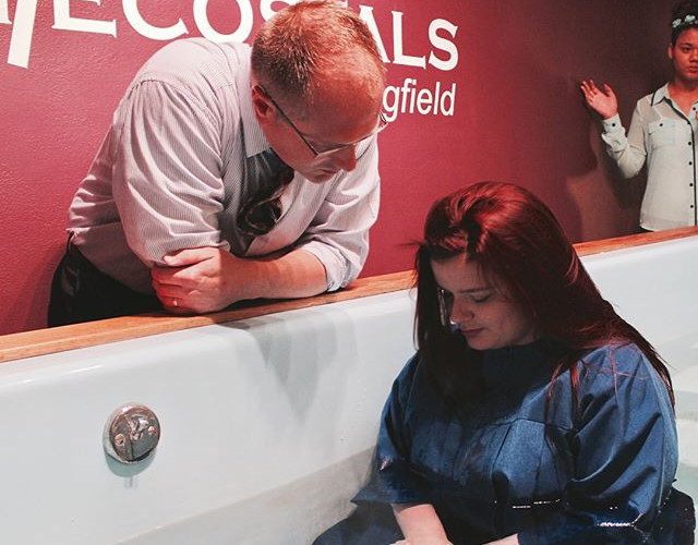 Venessa was baptized in Jesus' Name and