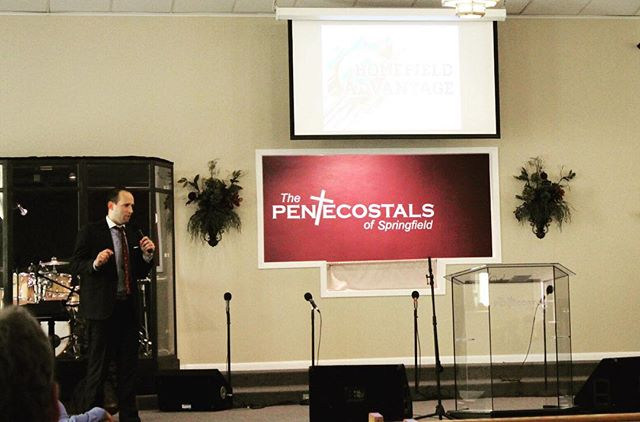 Pastor bringing the WORD this morning! �