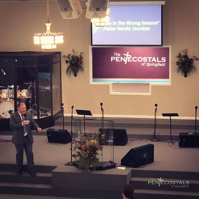 We're blessed to have Pastor Randy Jourd