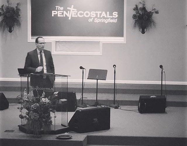 Pastor Aaron Harrod teaching tonight on