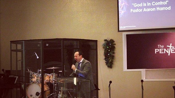 Pastor bringing the Word this morning! G
