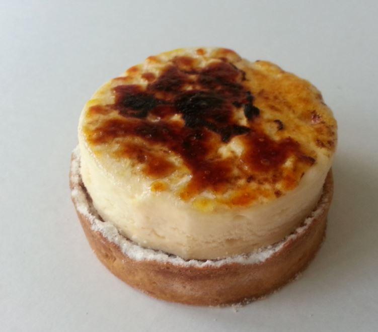 Tartelette aux pommes facon creme brulee