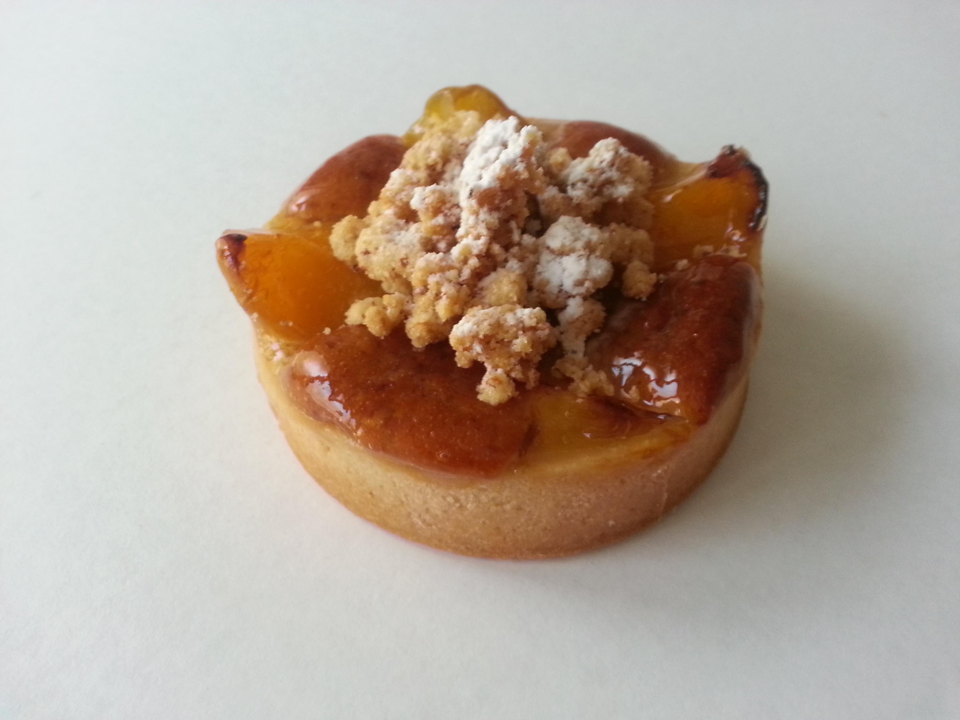 Tartelette Crumble abricot