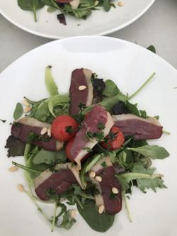 Salade de magrets de canard