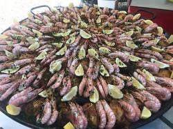 Paella 100 personnes