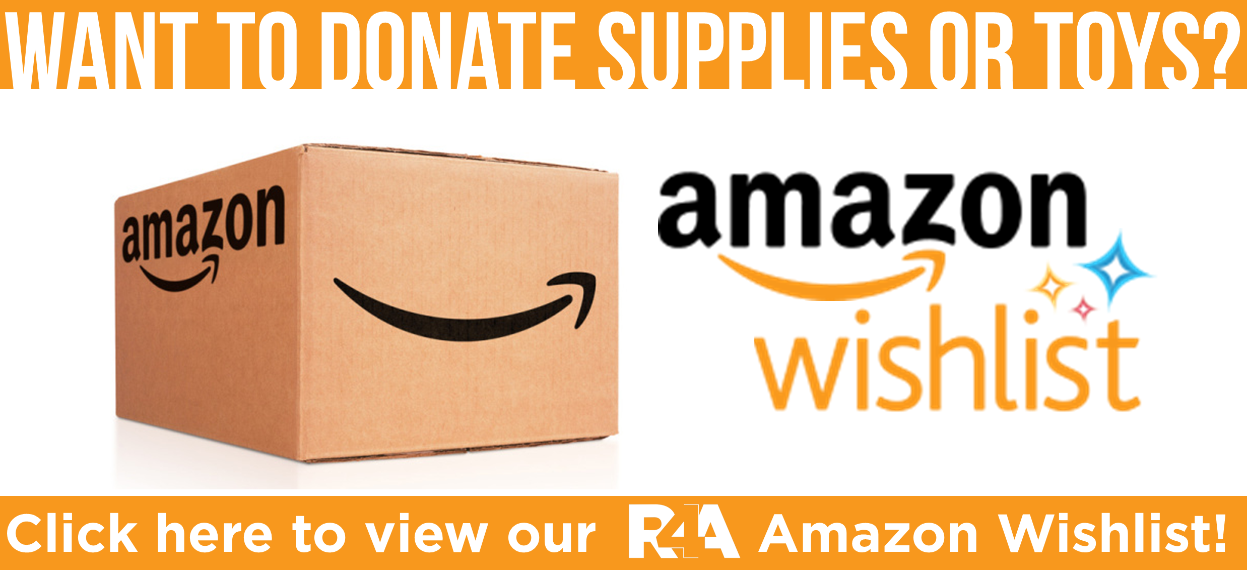 Rescue4All Amazon Smile Wishlist