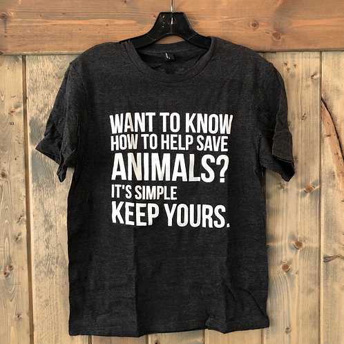 **Discontinued** Want to know how to help save Animals?