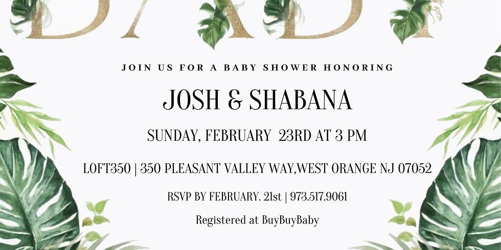 Josh & Shabana Baby Shower