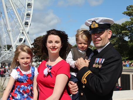 Marooned at home - life as a military wife