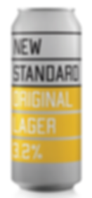 can new standard beer low alcohol original lager craft beer