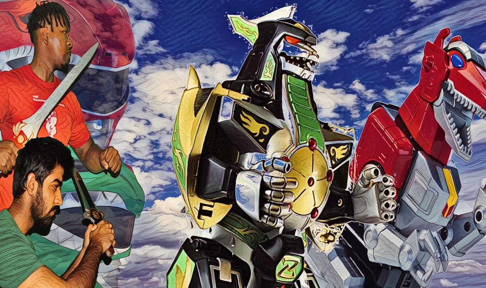 Power Rangers: Red & Green (GungHo)