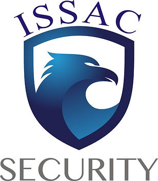 ISSAC SECURITY 로고