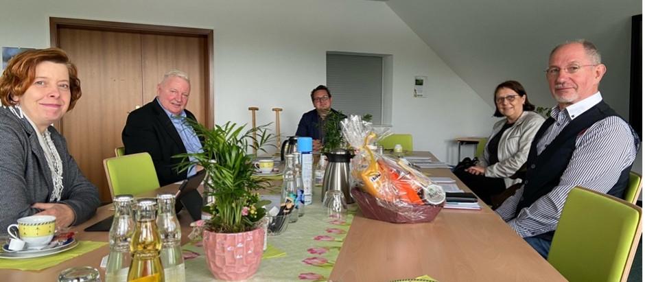 Besuch der SPD im Landesverband