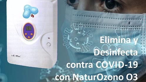 ozono contra el covid-19