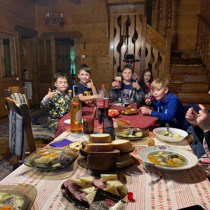 Ukrainian family Christmas