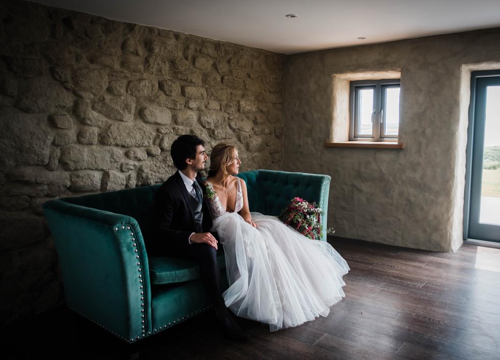 Wedding photography at Hendra Cottage.