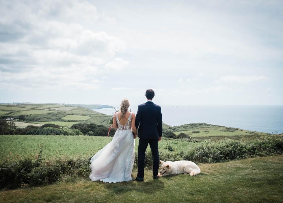 Weddings on the Cornish Coast.