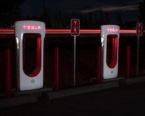 Tesla chargers Kincardine night.jpg