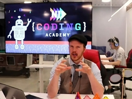 A fantastic first day at NII Coding Academy!