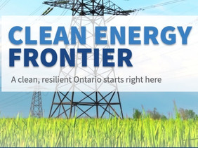 Clean Energy Frontier: building a bright future for Ontario starts right here in Bruce, Grey & Huron