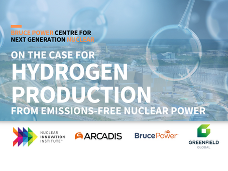 Canada's first-ever feasibility study on the case for nuclear hydrogen production now underway