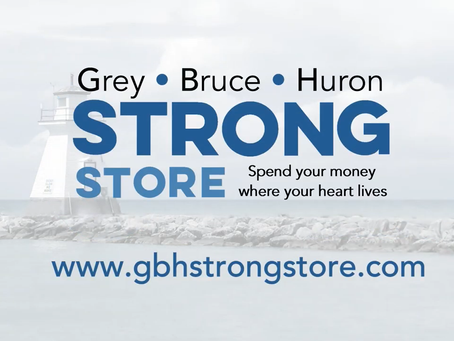 Grey•Bruce•Huron Strong Launches Online Gift Card Store for Local Businesses