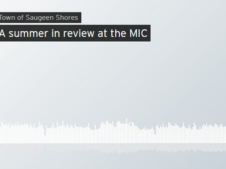 MIC visits the Shore Report podcast with the Town of Saugeen Shores