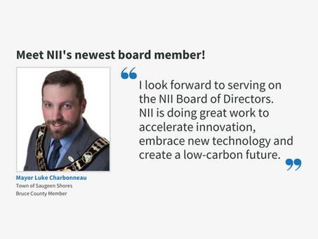 Mayor Luke Charbonneau appointed to NII Board of Directors